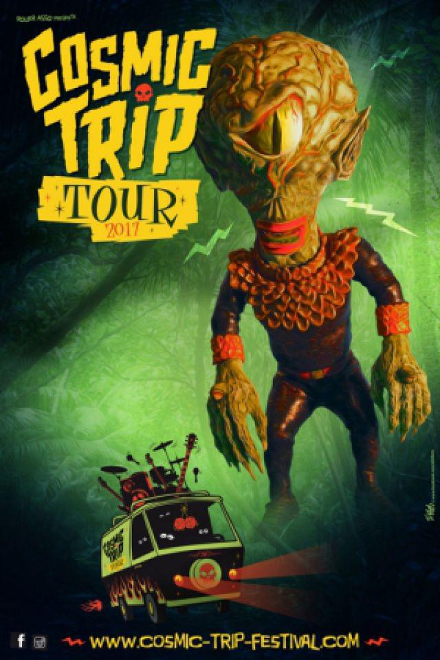 Cosmic Trip Tour 2017 : Powersolo + Weird Omen @ Le Sans Réserve - Périgueux
