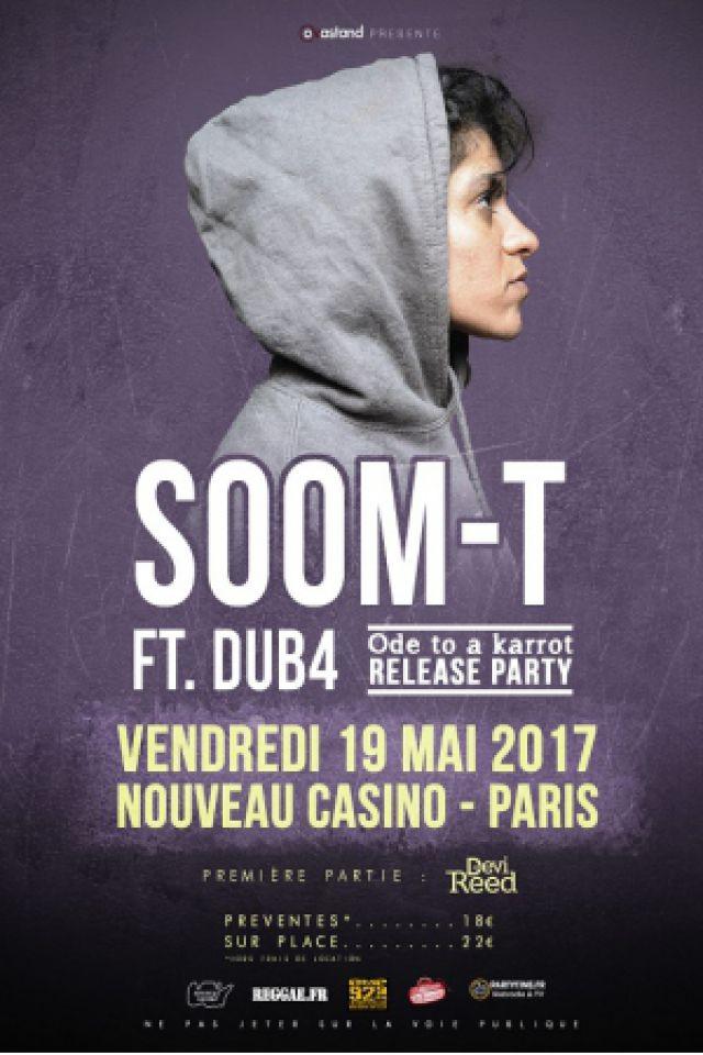 SOOM T @ Le Nouveau Casino - Paris