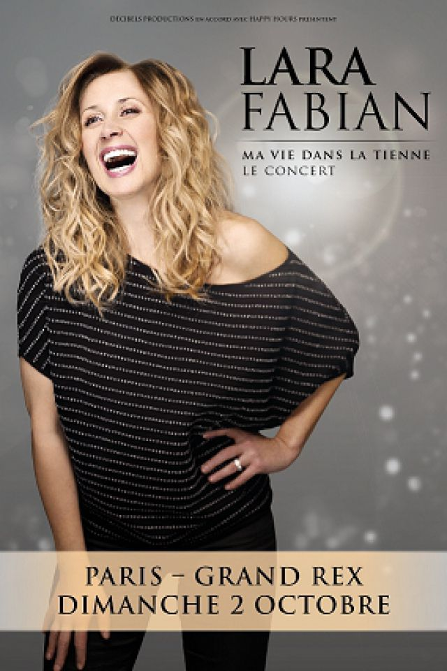 Billets LARA FABIAN - Le Grand Rex