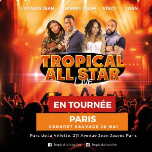 Concert TRACE TROPICAL ALL STAR
