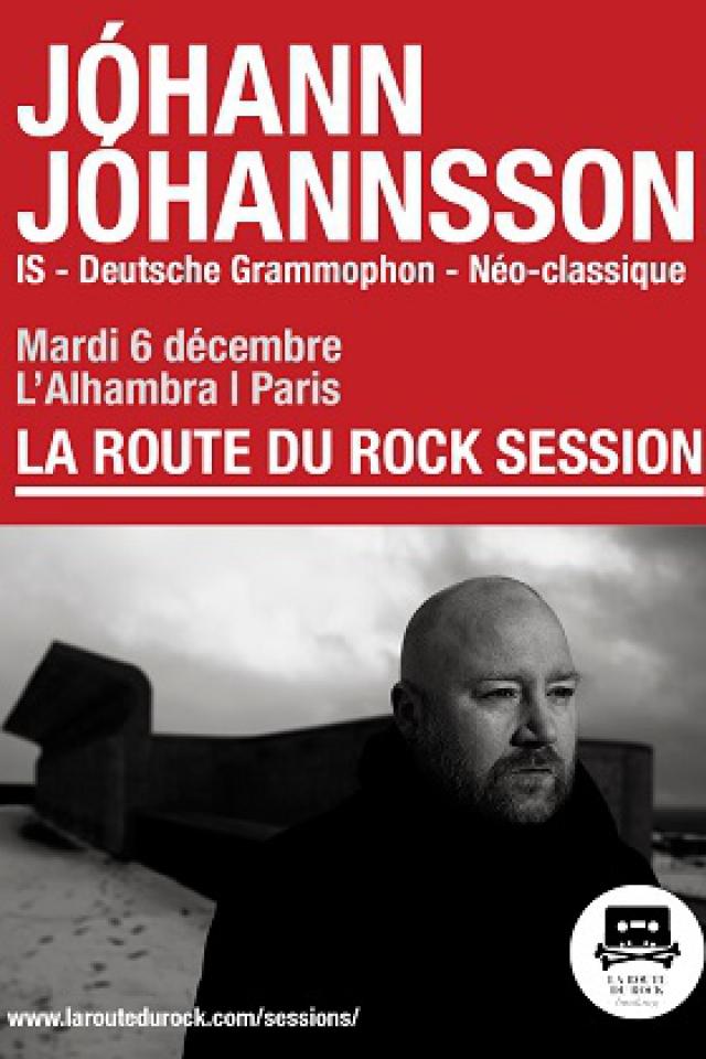 JOHANN JOHANNSSON @ Alhambra - Paris