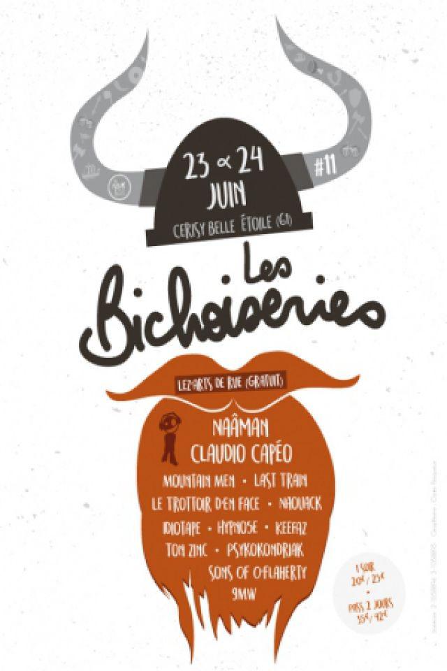 Festival LES BICHOISERIES - Claudio Capéo / Mountain Men / Idiotape à CERISY BELLE ÉTOILE @ Mont de CERISY BELLE ETOILE - Billets & Places