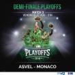 Match ASVEL - MONACO - 1/2 FINALE PLAYOFFS MATCH 3