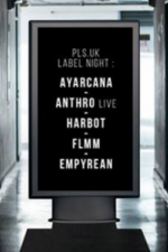 Open Minded Party: Pls.Uk label night - Ayarcana, Anthro & more @ Le Batofar - Paris