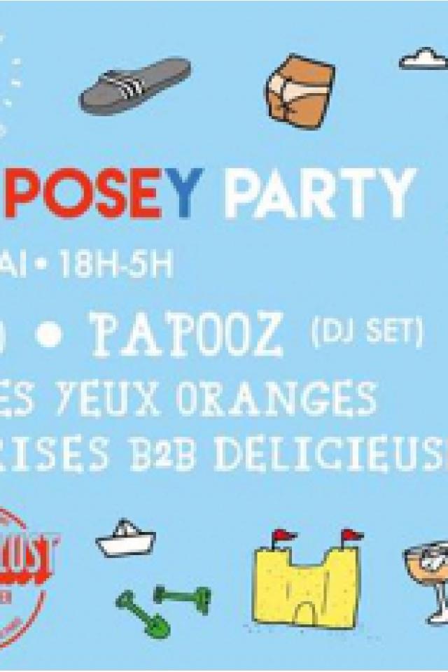 Pain Surprise : Futuro Pelo, Papooz, Bagarre, Les Yeux Orange @ Wanderlust - PARIS