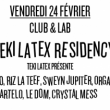 Soirée Teki Latex Residency : Orgasmic, Sir Spyro, Martelo, Crystallmess à PARIS @ Nuits Fauves - Billets & Places