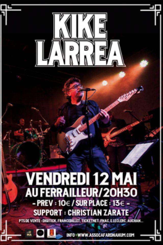 Kike Larrea @ Le Ferrailleur - Nantes
