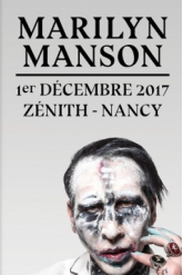 Billets MARILYN MANSON - Zenith de Nancy