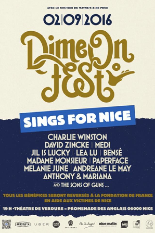 Concert DIME ON FEST: Charlie Winston /David Zincke /Medi /Jil Is Lucky..