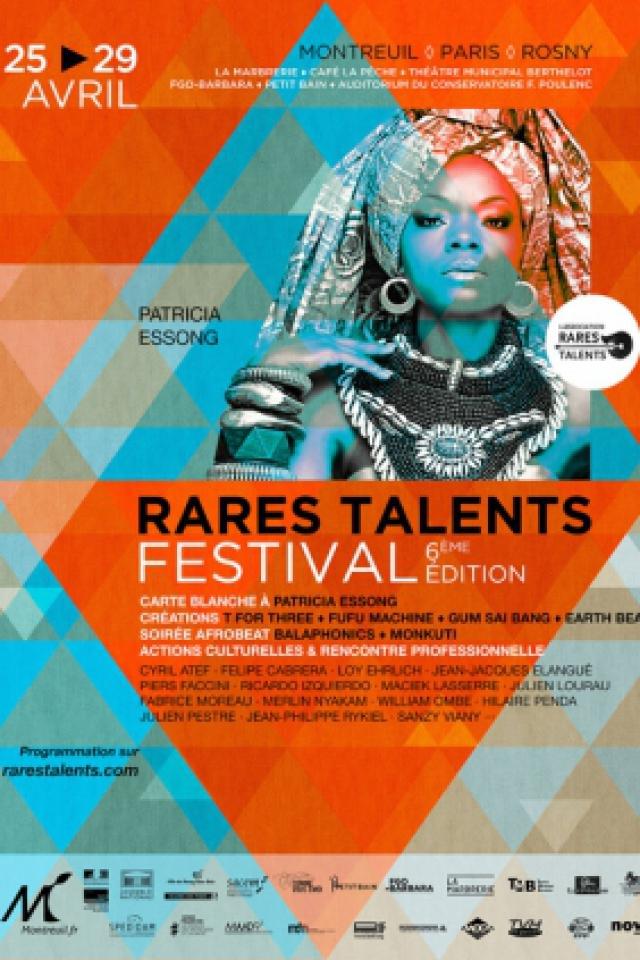 Festival Rares Talents : Balaphonics, Monkuti & Oghene Kologbo, H @ La Marbrerie - MONTREUIL