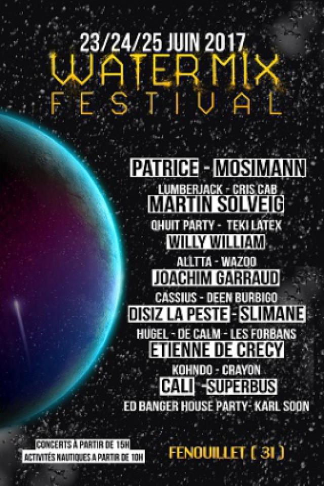 Water Mix Festival - WaterPass 1 jour samedi @ Lac du Bocage - FENOUILLET