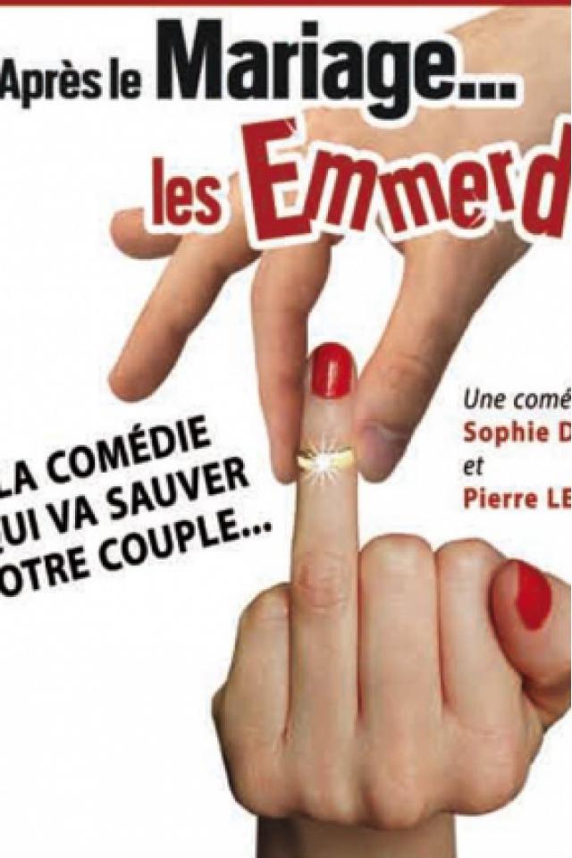 APRES LE MARIAGE LES EMMERDES @ LE K - KABARET CHAMPAGNE MUSIC HALL - TINQUEUX