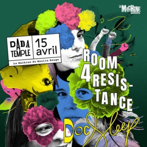 Soirée Dada Temple Invite Room 4 Resistance