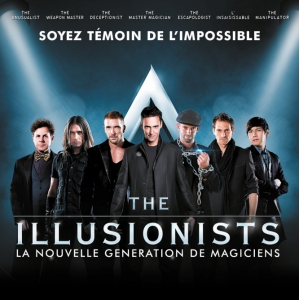 Spectacle THE ILLUSIONISTS