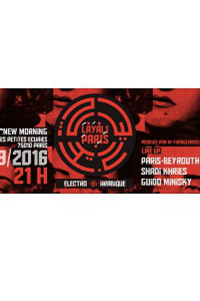 LAYALI PARIS - electro arabique @ New Morning - Paris