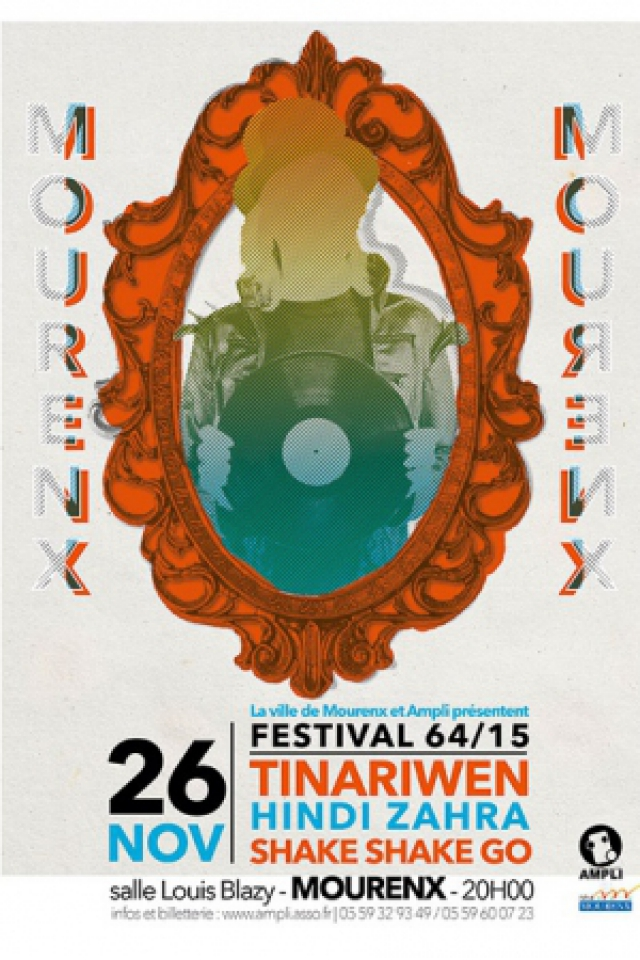 Concert TINARIWEN + HINDI ZAHRA + SHAKE SHAKE GO à Mourenx @ Salle Louis Blazy - Billets & Places