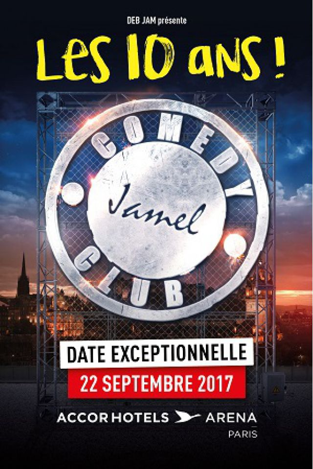 Billets LE JAMEL COMEDY CLUB - ACCORHOTELS ARENA
