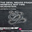 THE DEVIL WEARS PRADA + MEMPHIS MAY FIRE + SILVERSTEIN