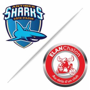 Match ANTIBES SHARKS / ELAN CHALON