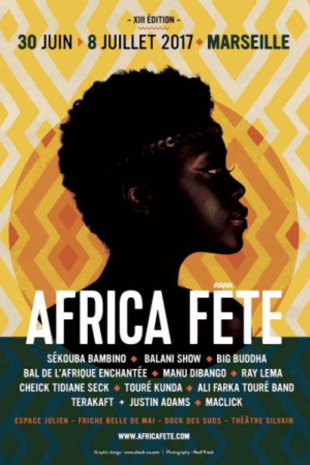 13e AFRICA FETE : SEKOUBA BAMBINO - PEPE OLEKA - DJ IVOR @ Espace Julien - Marseille