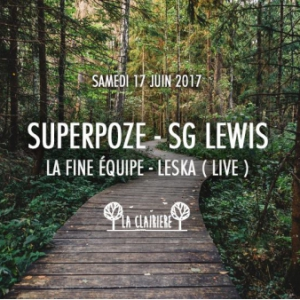 Soirée SUPERPOZE, SG LEWIS, La FINE Equipe & LESKA Live