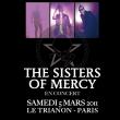 Concert THE SISTERS OF MERCY à Paris @ Le Trianon - Billets & Places