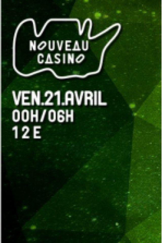Soirée Timid Boy Invite: Mike Spirit, DJ Schwa, David Reyner, Timid Boy à Paris @ Le Nouveau Casino - Billets & Places