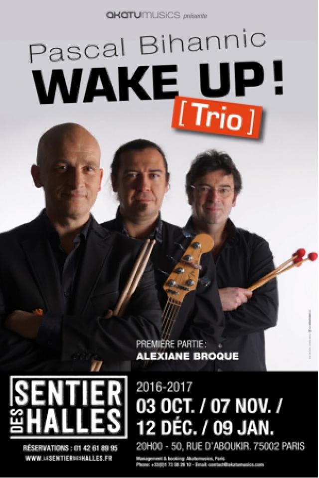 Pascal Bihannic Trio - Wake Up ! @ Sentier des Halles - PARIS