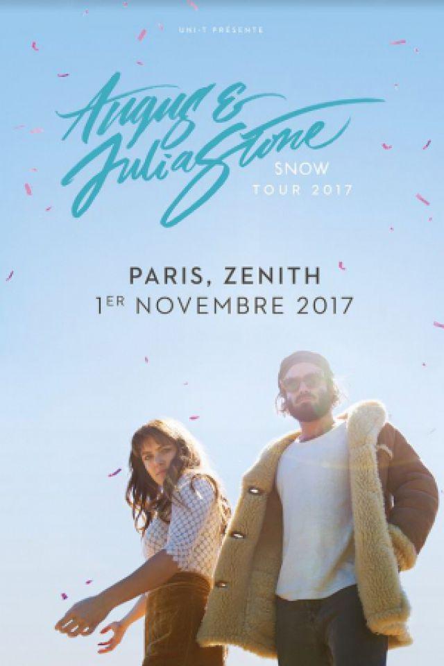 Concert Angus et Julia Stone à Paris @ Zénith Paris La Villette - Billets & Places