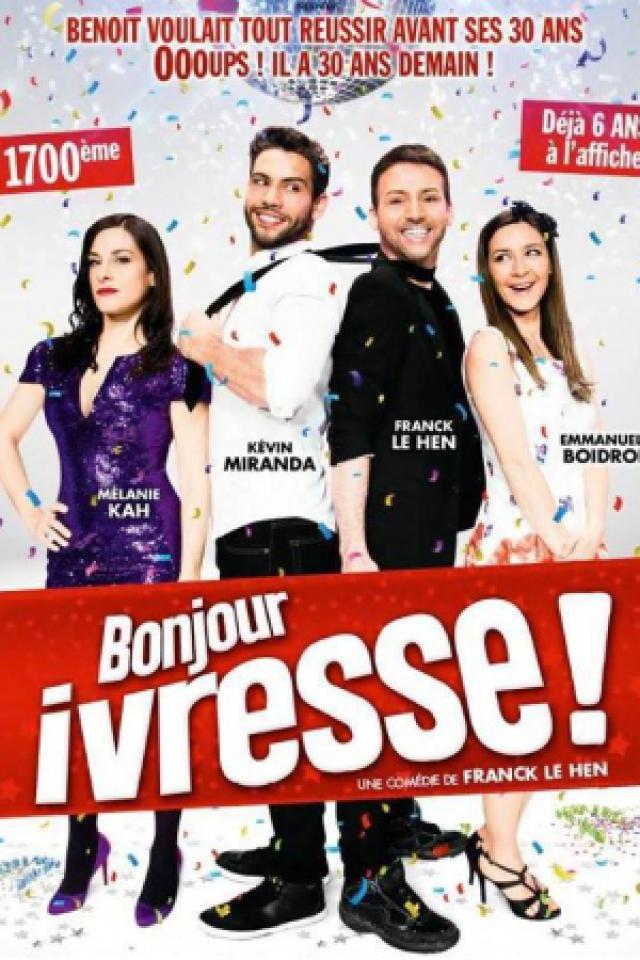 Bonjour, Ivresse !  @ Théâtre de Jeanne - NANTES