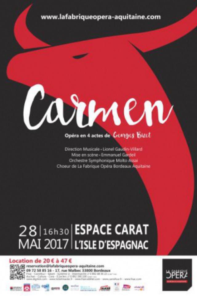 Carmen @ Espace Carat - Parc Expo - L'ISLE D'ESPAGNAC