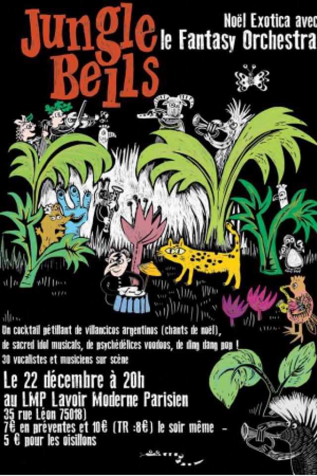 JUNGLE BELLS ! Noël Exotica avec le Fantasy Orchestra @ Lavoir Moderne Parisien - PARIS