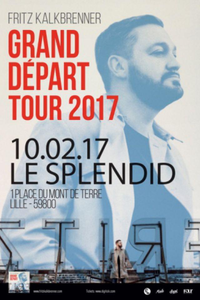 FRITZ KALKBRENNER @ Le Splendid - Lille