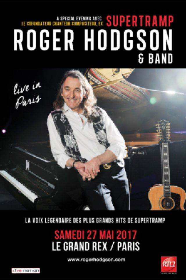 ROGER HODGSON & BAND @ Le Grand Rex - Paris