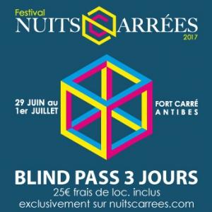 LES NUITS CARREES 2017 - TRUST @ Amphithéâtre du Fort Carré  - ANTIBES