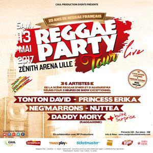 REGGAE PARTY TOUR @ ZENITH ARENA DE LILLE  - LILLE