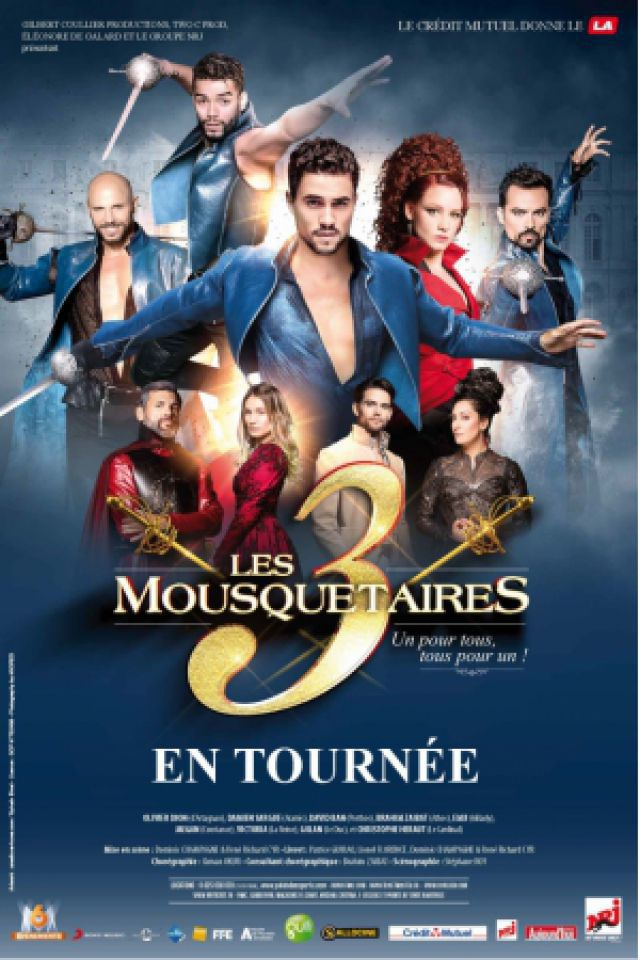 LES 3 MOUSQUETAIRES @ Zénith de Rouen - Le Grand Quevilly