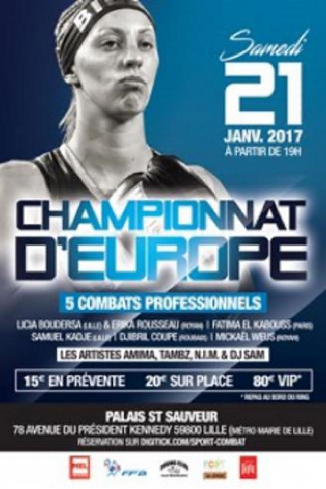 Championnat d'Europe (E.B.U) @ Palais des Sports Saint Sauveur - LILLE