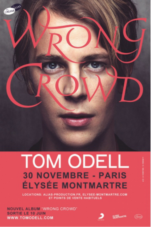 TOM ODELL @ ELYSEE MONTMARTRE - PARIS