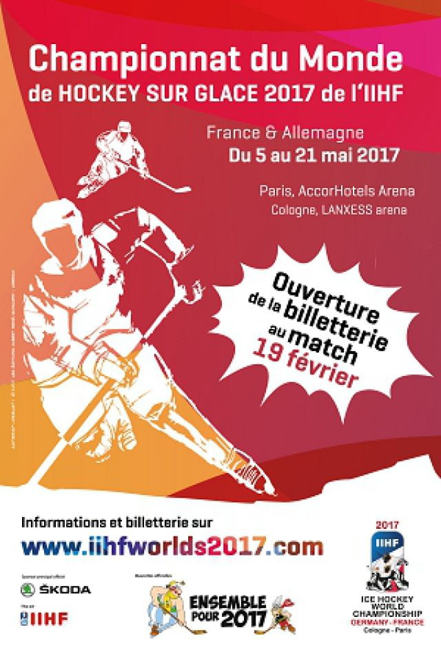 IIHF WM Slovénie vs Canada @ ACCORHOTELS ARENA - PARIS 12