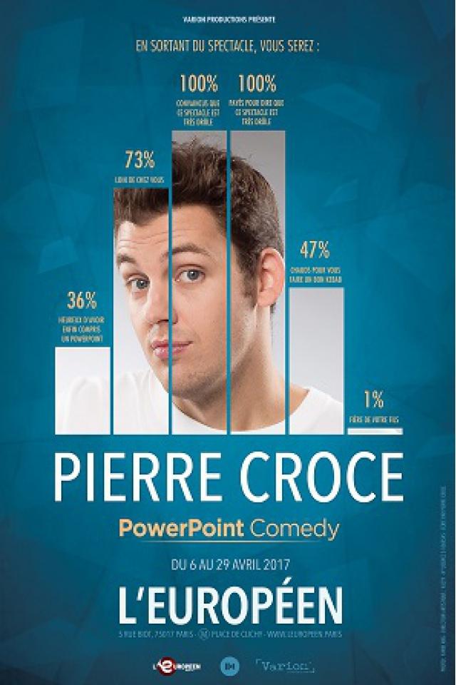 Pierre Croce dans Powerpoint Comedy @ L'Européen - Paris