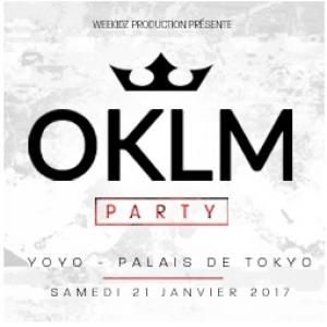 Billets OKLM Party  - YOYO - PALAIS DE TOKYO