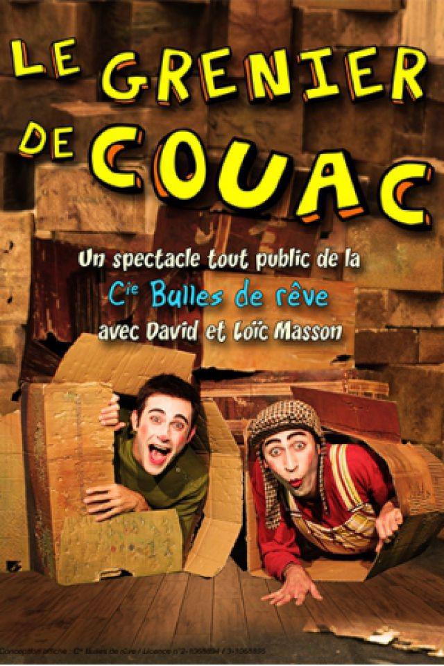 Le grenier de Couac @ Les Marionnettes de la Pépinière - NANCY