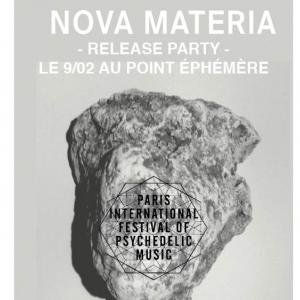 Concert PARIS PSYCH FEST LAUNCH PARTY W/ NOVA METERIA + ALICE LEWIS