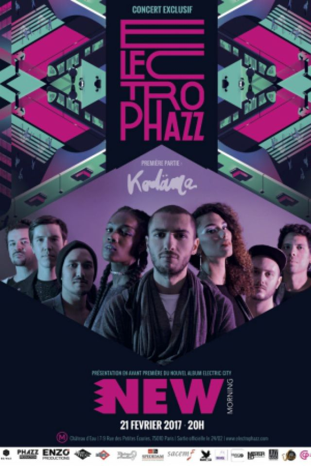 Billets ELECTROPHAZZ - Concert de Sortie d'Album - New Morning