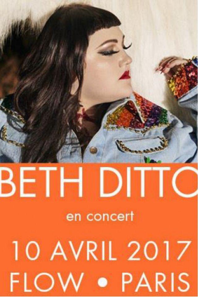 Concert BETH DITTO à PARIS @ FLOW - Billets & Places