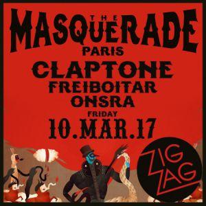 Soirée CLAPTONE présente THE MASQUERADE PARIS