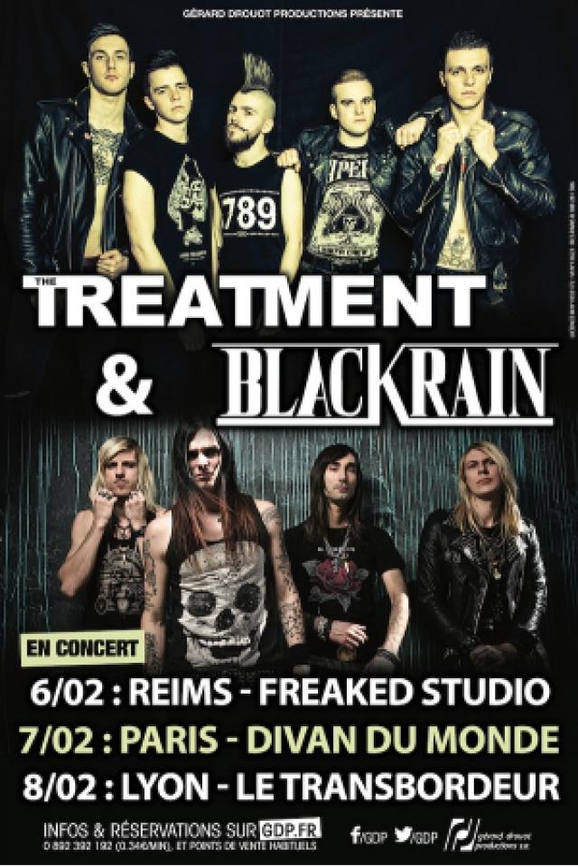The Treatment + Blackrain @ TRANSBORDEUR - Villeurbanne