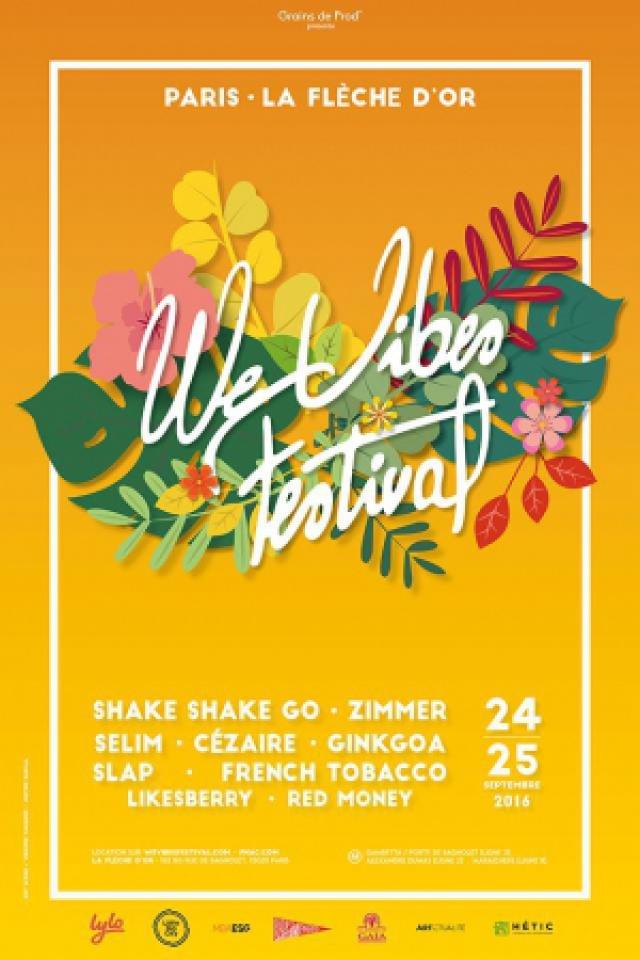 WeVibes Festival - Pass 2 Jours @ La Flèche d'Or - PARIS