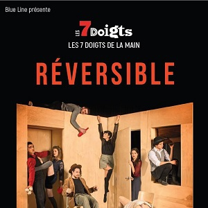 Spectacle LES 7 DOIGTS DE LA MAIN : REVERSIBLE